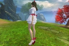 Conjunto de Laço Vermelho - Feminino (3)