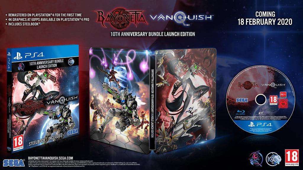 Confirmados: Bayonetta e Vanquish chegarão ao PS4 em 2020 1