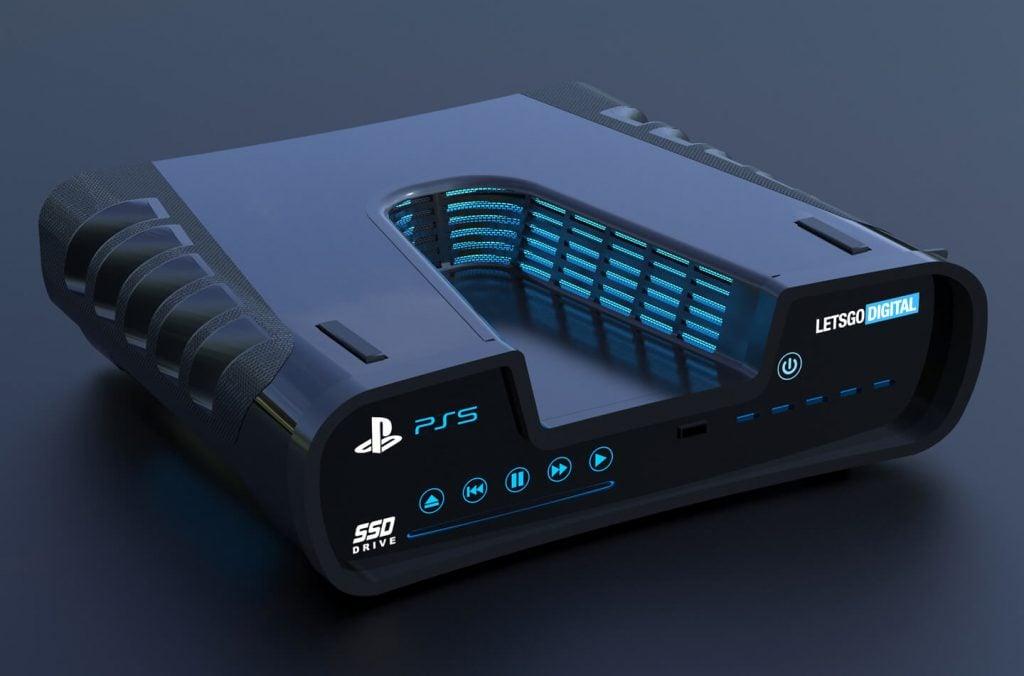 """Dev Kit do """"PS5"""" ganha vida com renderização em 3D 3"""
