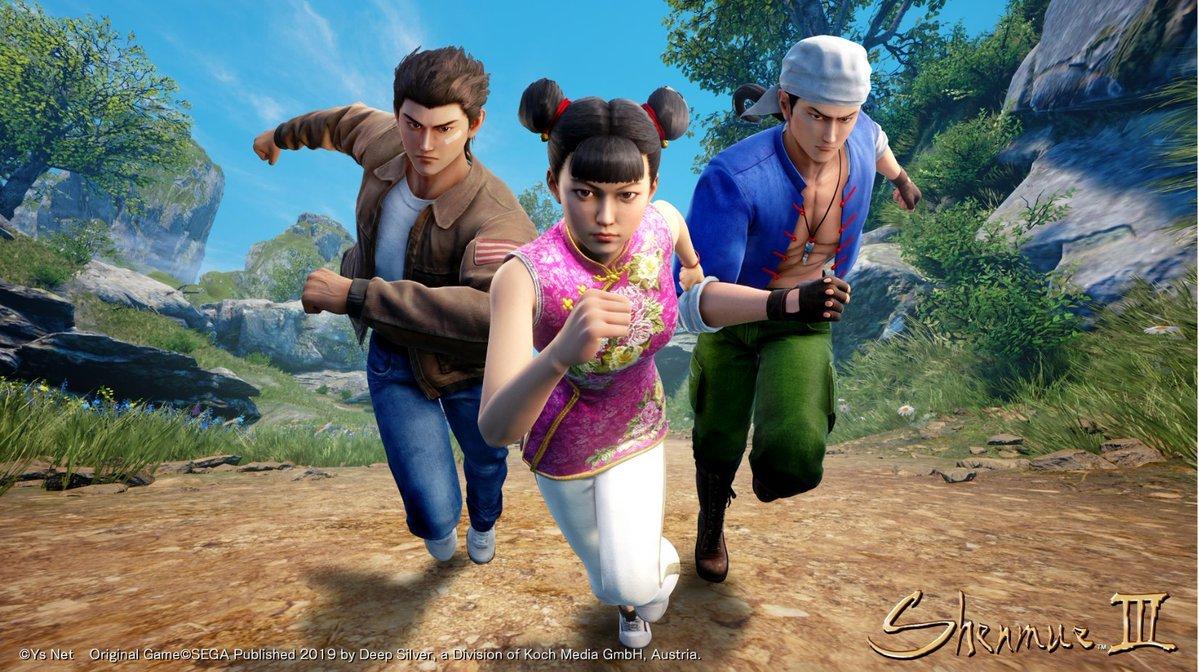 DLC de Shenmue 3 é anunciado ao estilo Corrida Maluca 1