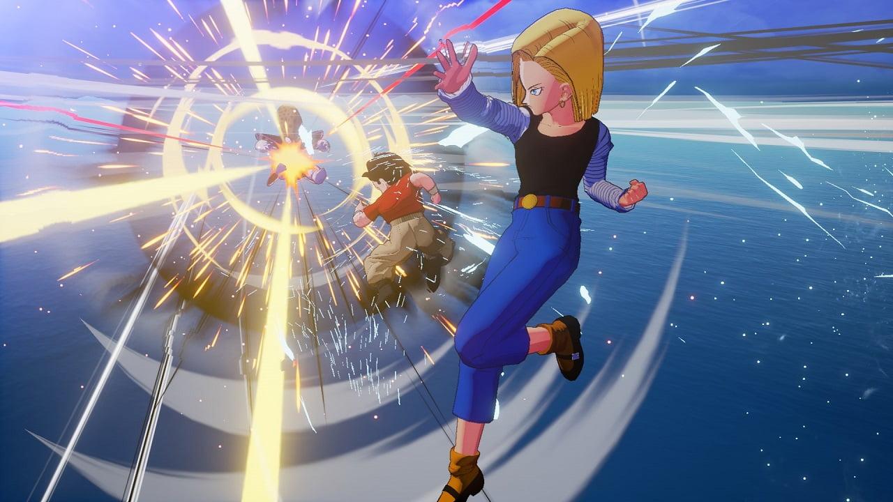 Dragon Ball Z: Kakarot ganha novas imagens de 18, Goten e Trunks 6