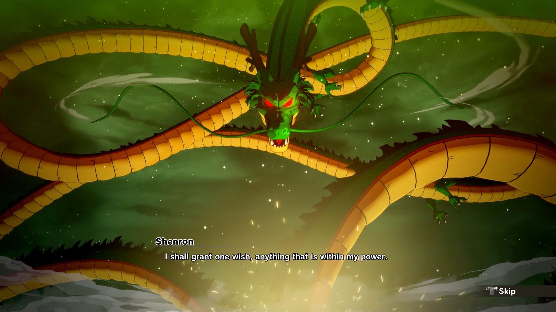 Dragon Ball Z: Kakarot ganha poster e imagens com Shenlong 2