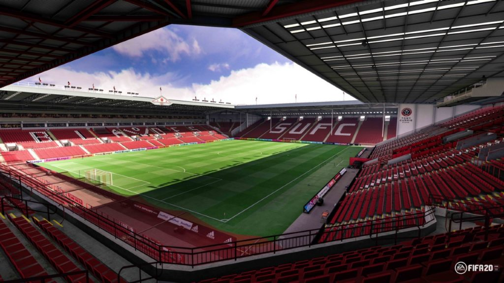 O recém-promovido Sheffield United joga no Bramlall Lane (Foto: EA Sports)