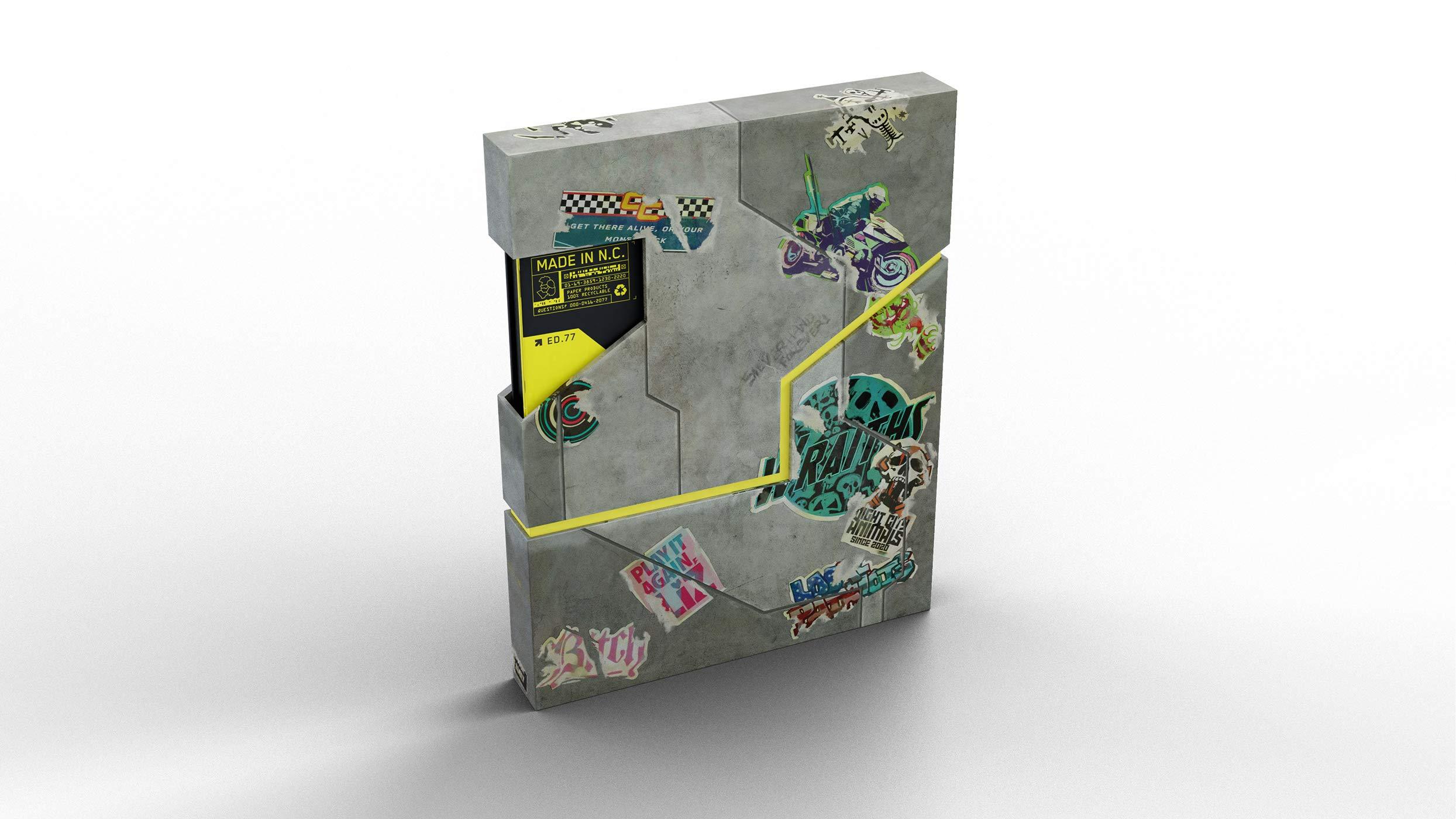 Edição especial de livro de Cyberpunk 2077 trará mapa de Night City 3