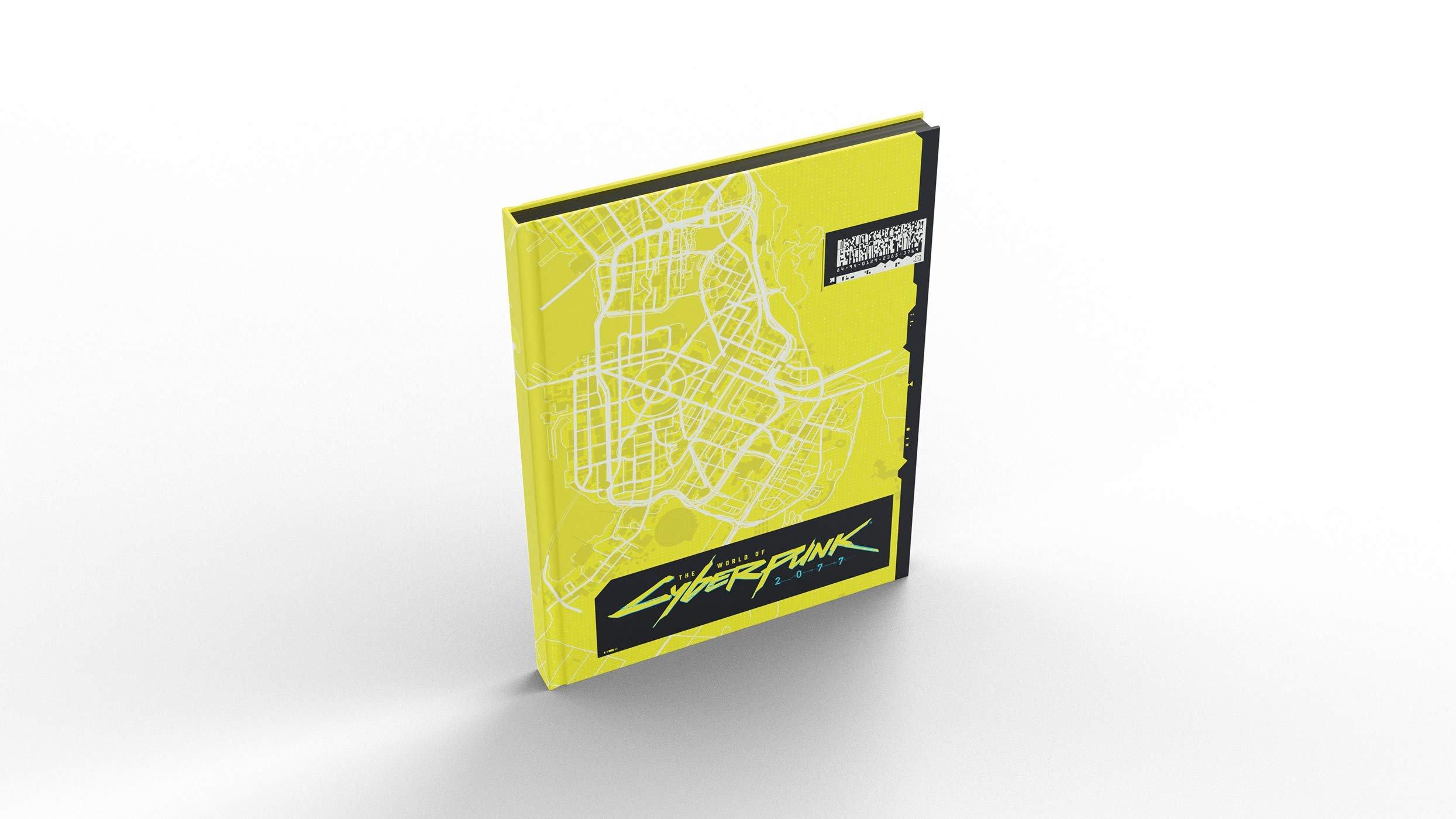 Edição especial de livro de Cyberpunk 2077 trará mapa de Night City 6