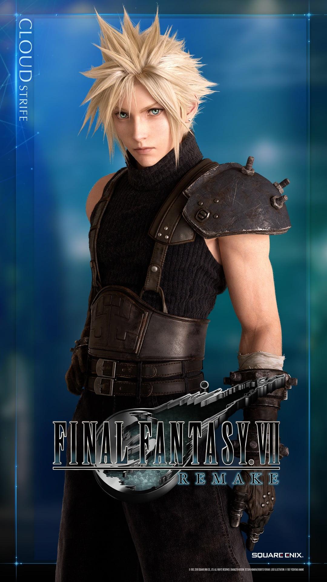 Final Fantasy VII Remake: Square disponibiliza lindo wallpaper 2