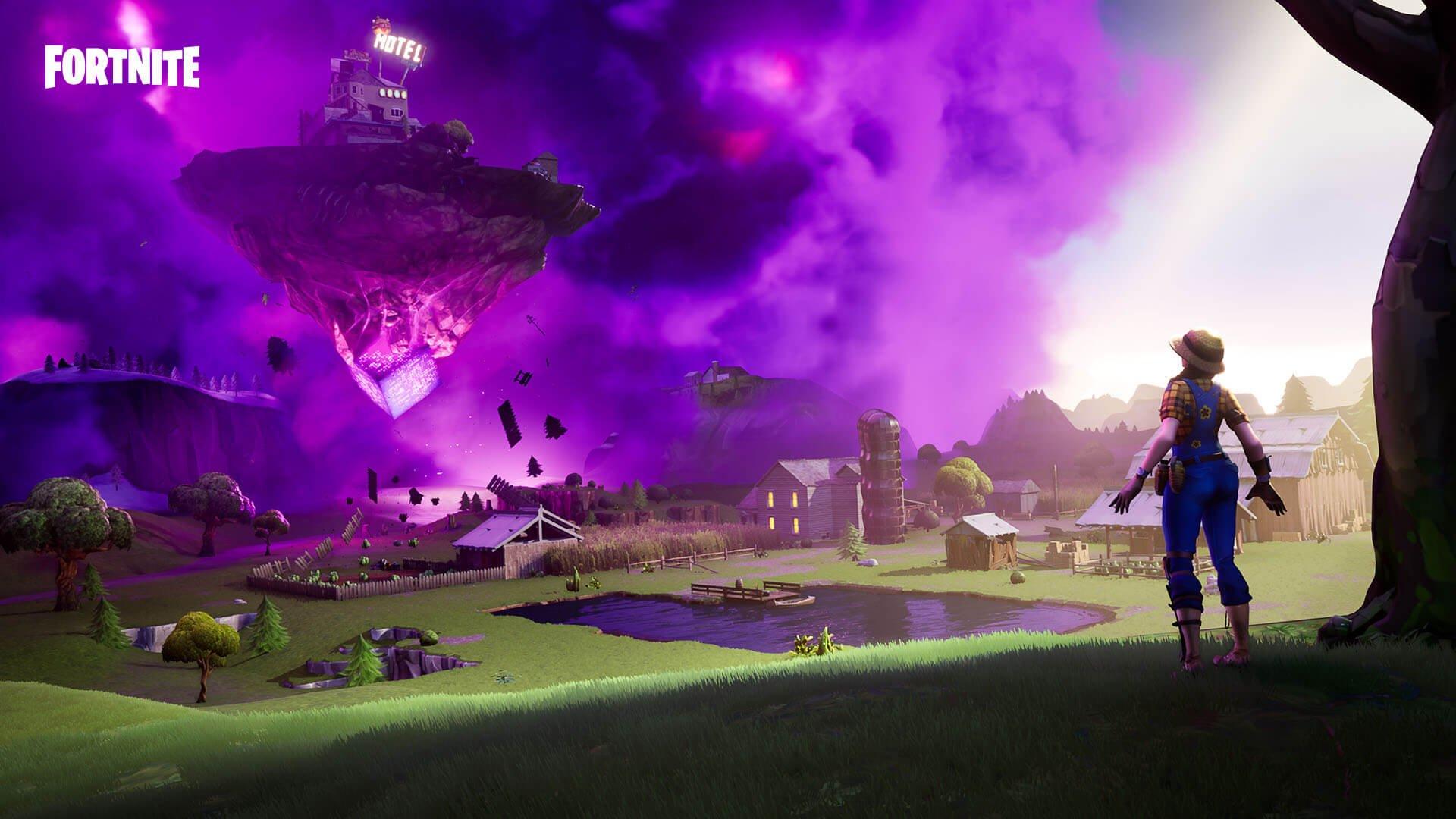 "Fortnite: patch adiciona armadilha ""Zapper"" e Ilha Flutuante 1"
