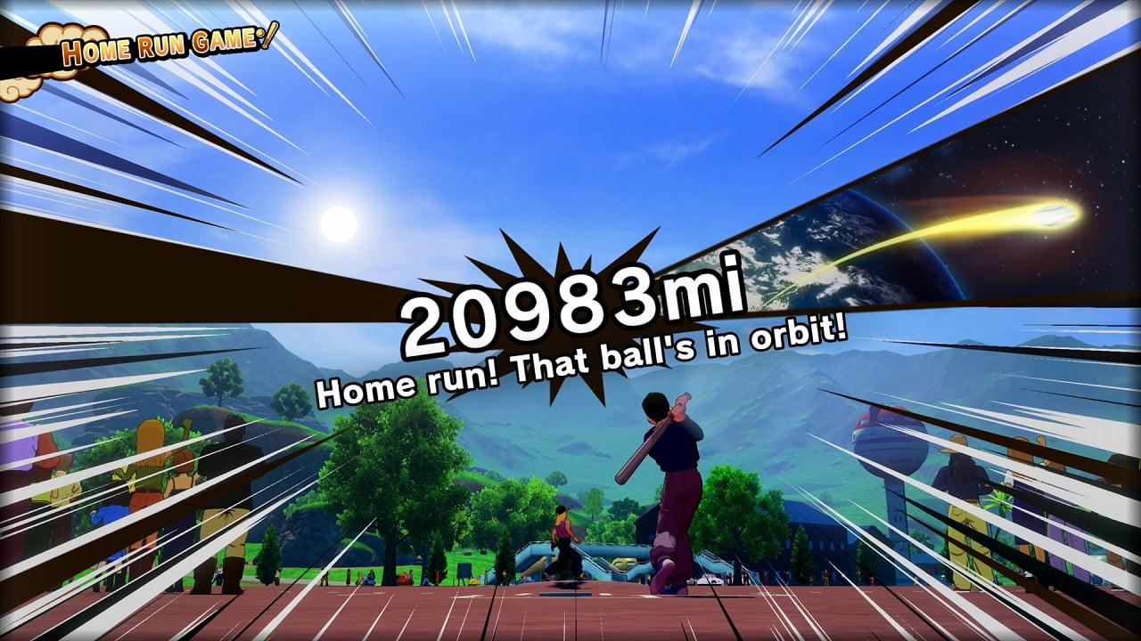 Home run, Saiyajin! Dragon Ball Z: Kakarot terá mini-game de baseball 3