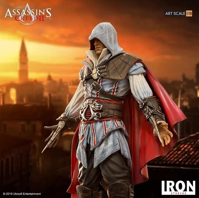 Ezio 'Standard Edition' custará R$ (Foto: Iron Studios)