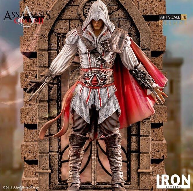 Ezio versão 'Deluxe' custará R$ inicialmente (Foto: Iron Studios)
