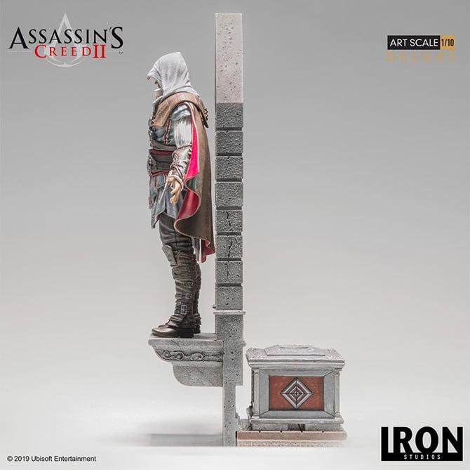 Modelo ficará sobre janela de uma torre (Foto: Iron Studios)