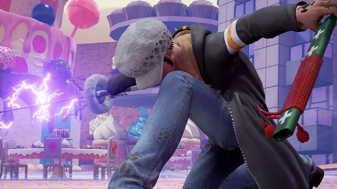 Jump Force: novas imagens do DLC Trafalgar Law 3