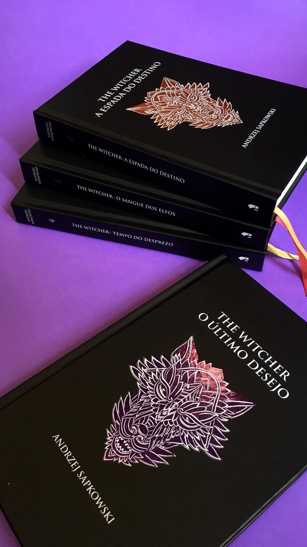 Livros de The Witcher são relançados no Brasil em capas especiais 8