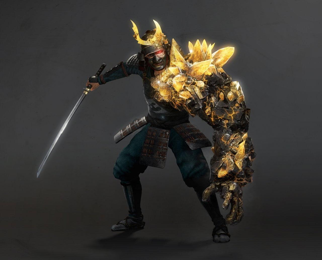 Nioh 2 ganha muitas imagens com monstros, armas e combate 19