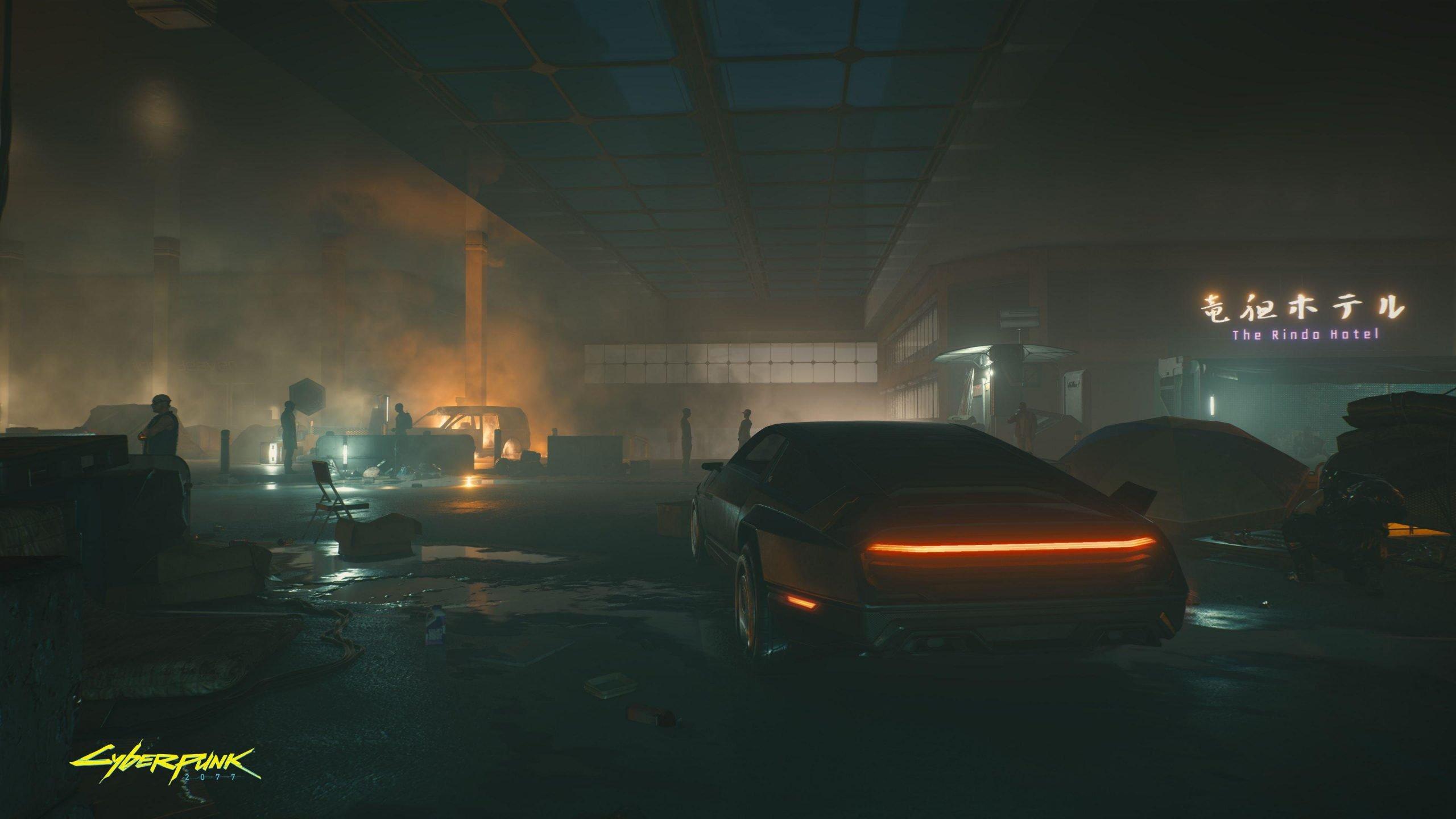 Nova imagem de Cyberpunk 2077 destaca Night City 1