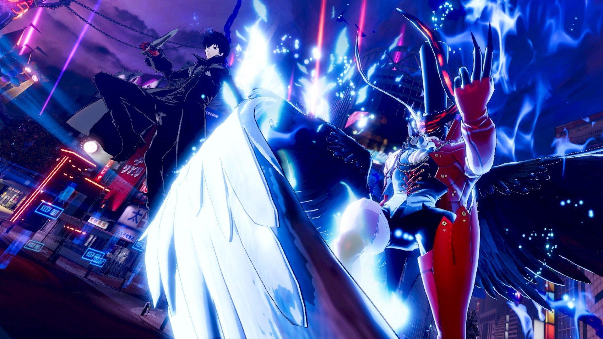 Persona 5 Scramble ganha novas imagens com gameplay diferente 7