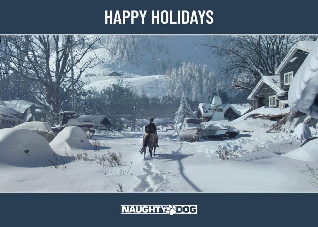 PlayStation libera cartões de natal de diversos games 1