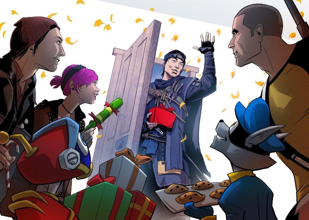 PlayStation libera cartões de natal de diversos games 5