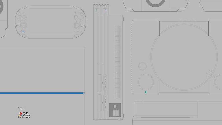 PlayStation oferece 8 papéis de parede em comemoração aos 25 anos 3