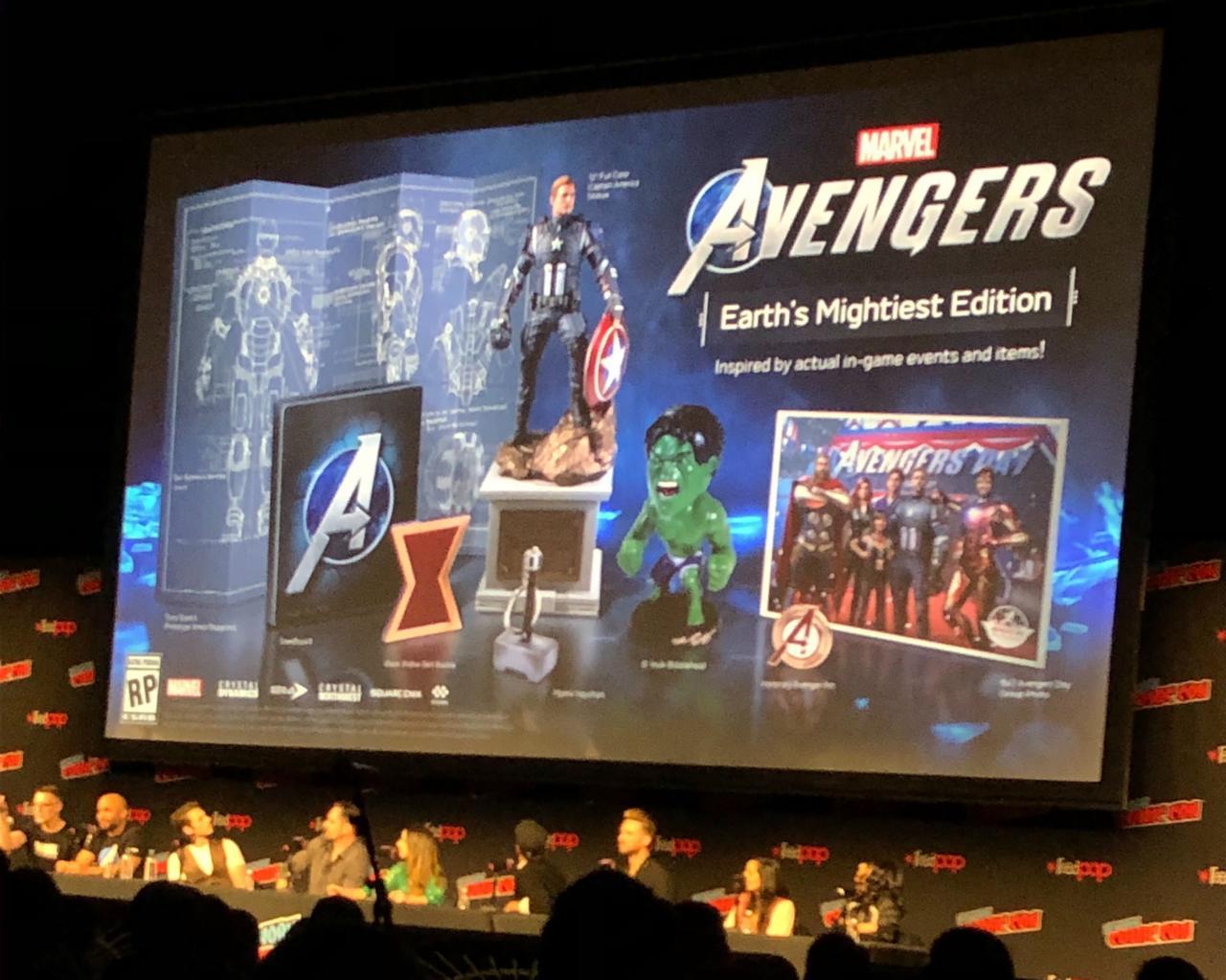 Recheada! Veja os itens da edição de colecionador de Marvel's Avengers 1