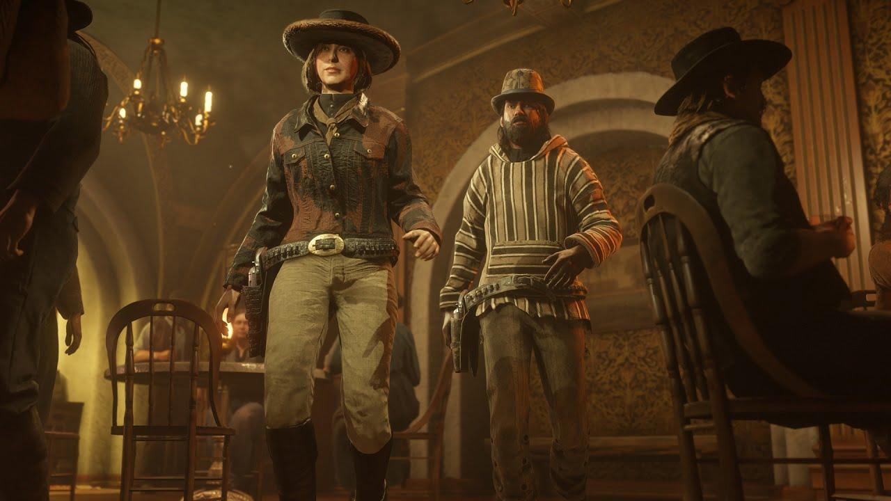 Red Dead Online ganha novas roupas e bônus da expansão 1