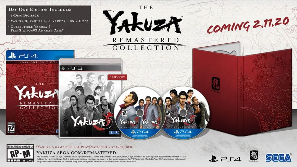 """""""Day One Edition"""" virá com capas personalizadas (Foto: SEGA)"""