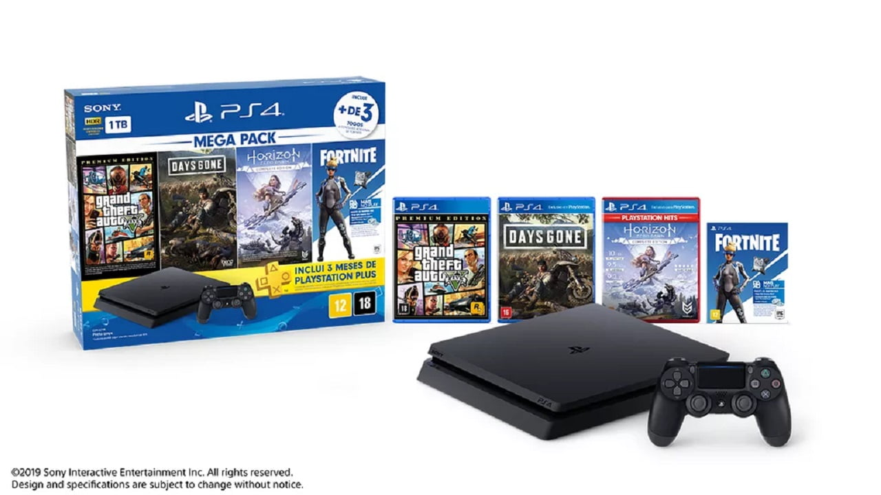 Sony anuncia bundle PlayStation 4 Megapack para o Brasil 1