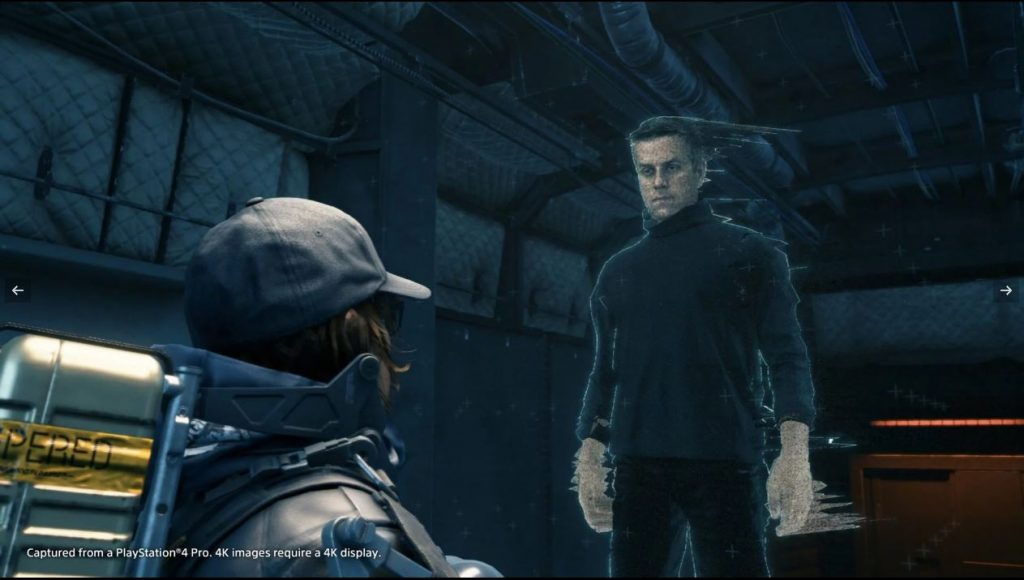 Personagem de Geoff Keighley também recebeu screenshot (Imagem: Sony)
