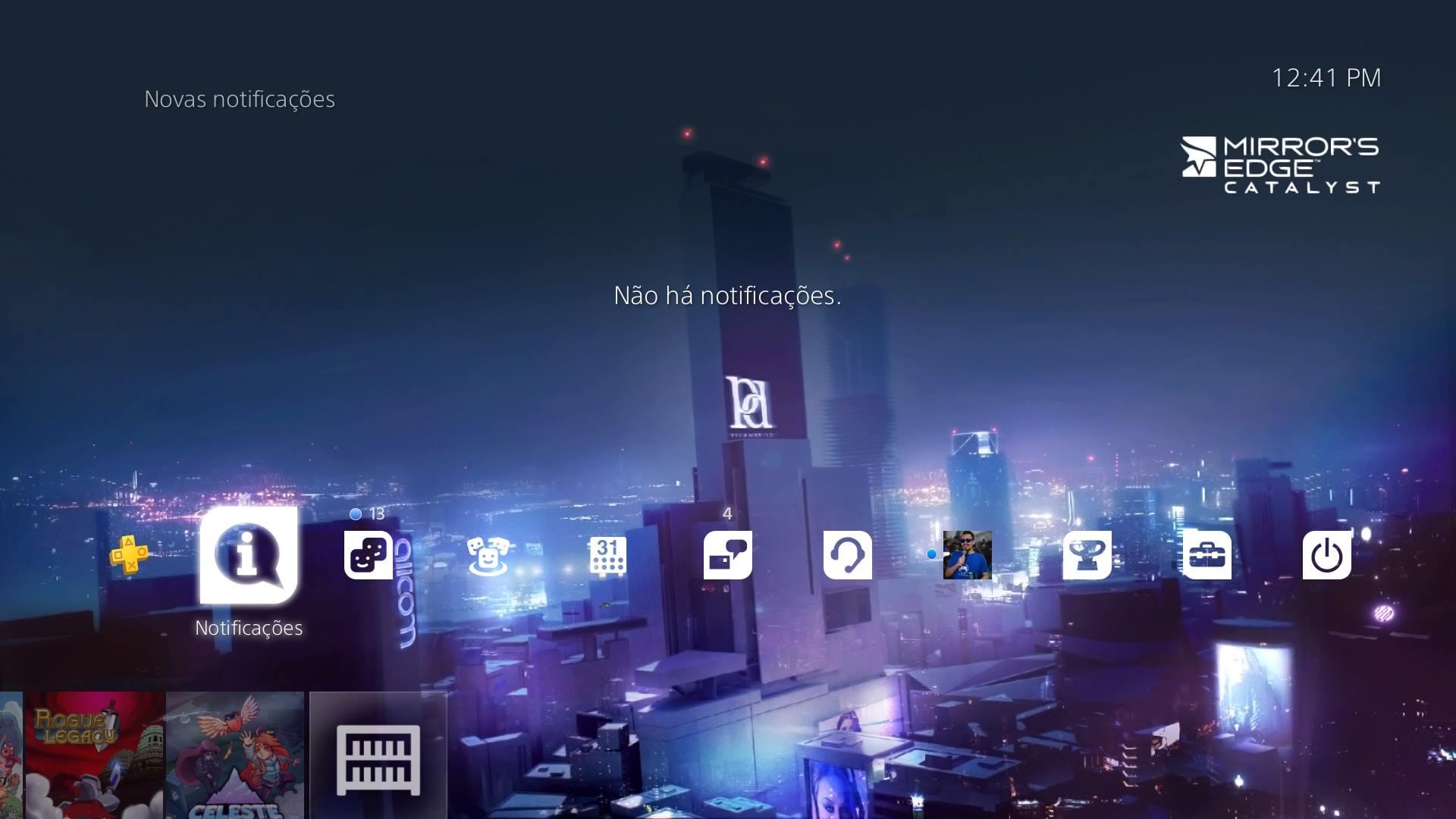 Tema gratuito de Mirror's Edge Catalyst está disponível na PS Store 2