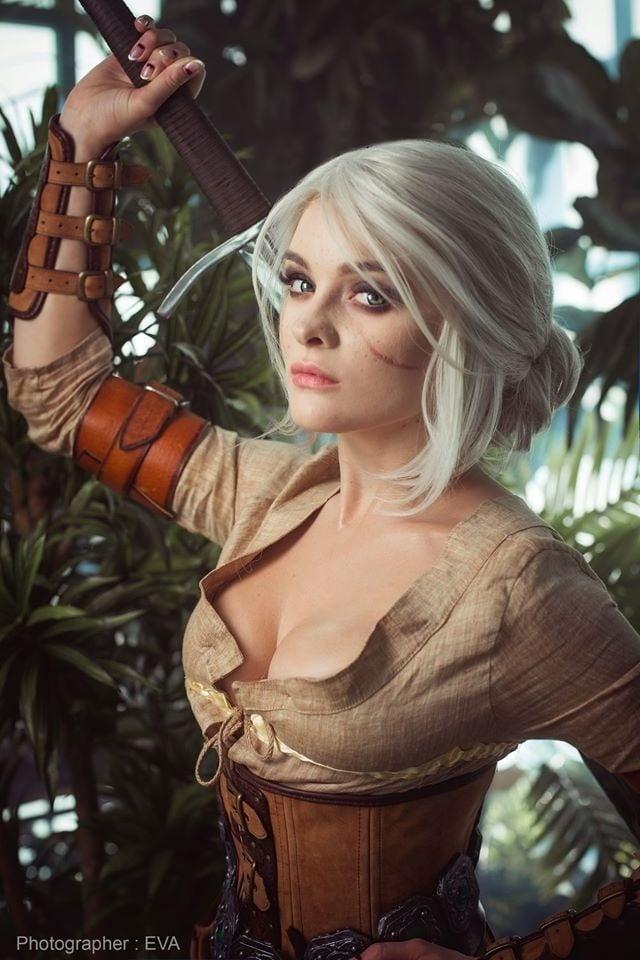The Witcher 3: cosplayer reproduz Ciri perfeitamente 1