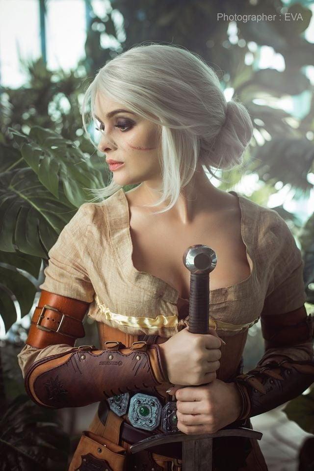 The Witcher 3: cosplayer reproduz Ciri perfeitamente 3