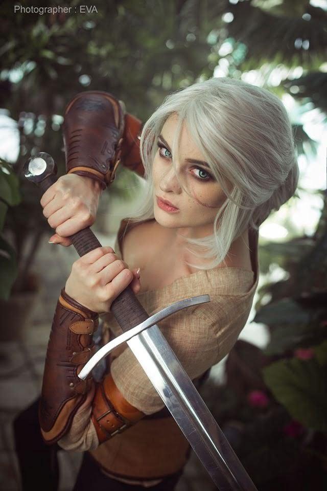 The Witcher 3: cosplayer reproduz Ciri perfeitamente 4