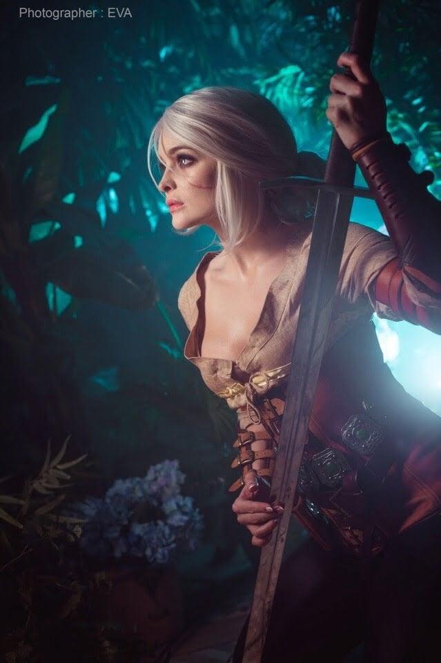 The Witcher 3: cosplayer reproduz Ciri perfeitamente 5