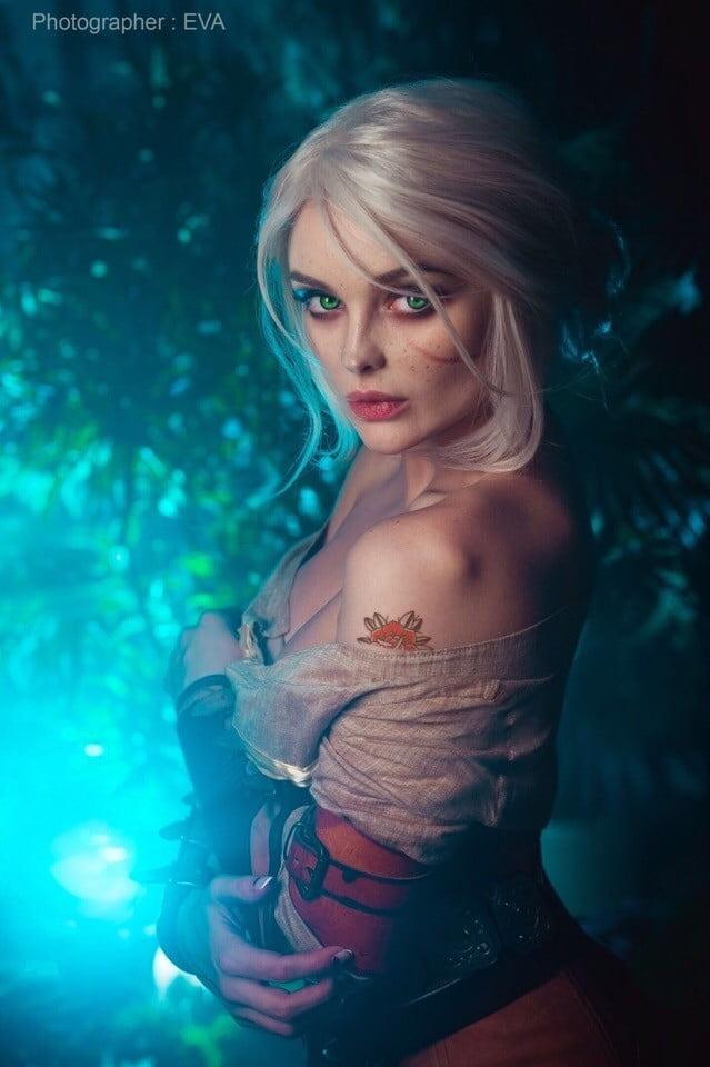 The Witcher 3: cosplayer reproduz Ciri perfeitamente 6