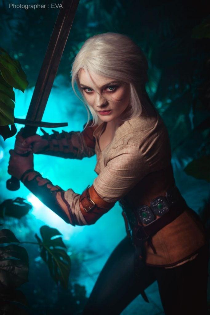 The Witcher 3: cosplayer reproduz Ciri perfeitamente 7