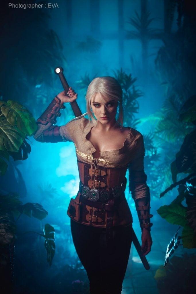 The Witcher 3: cosplayer reproduz Ciri perfeitamente 8
