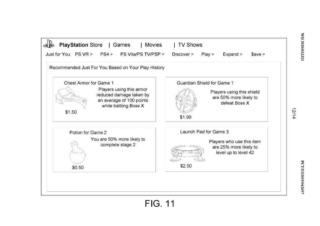 Patente PS5