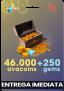 46000 Avacoins + 250 Gemas – Avakin Life
